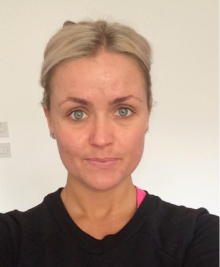 Abigail Westwoods no makeup selfie