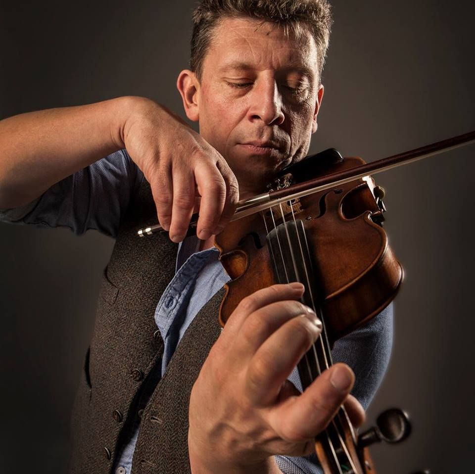 Tarland fiddler Paul Anderson is among those taking to the stage for the Aboyne and Deeside Festival