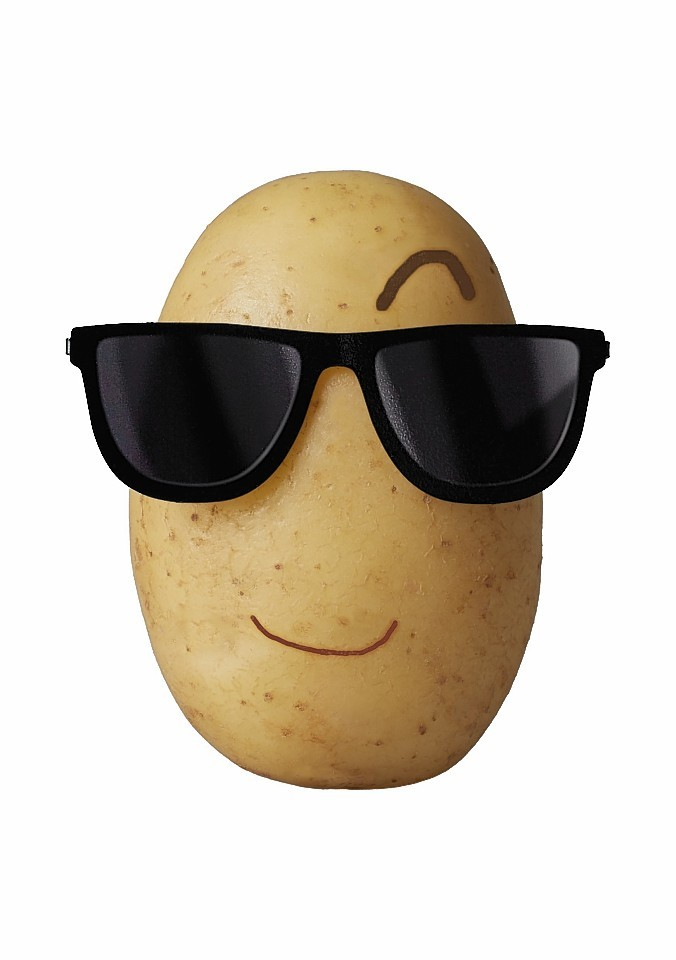 This cartoon potato character will feature in the campaign