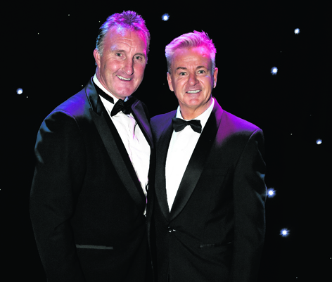 Alan McInally and  Charlie Nicholas