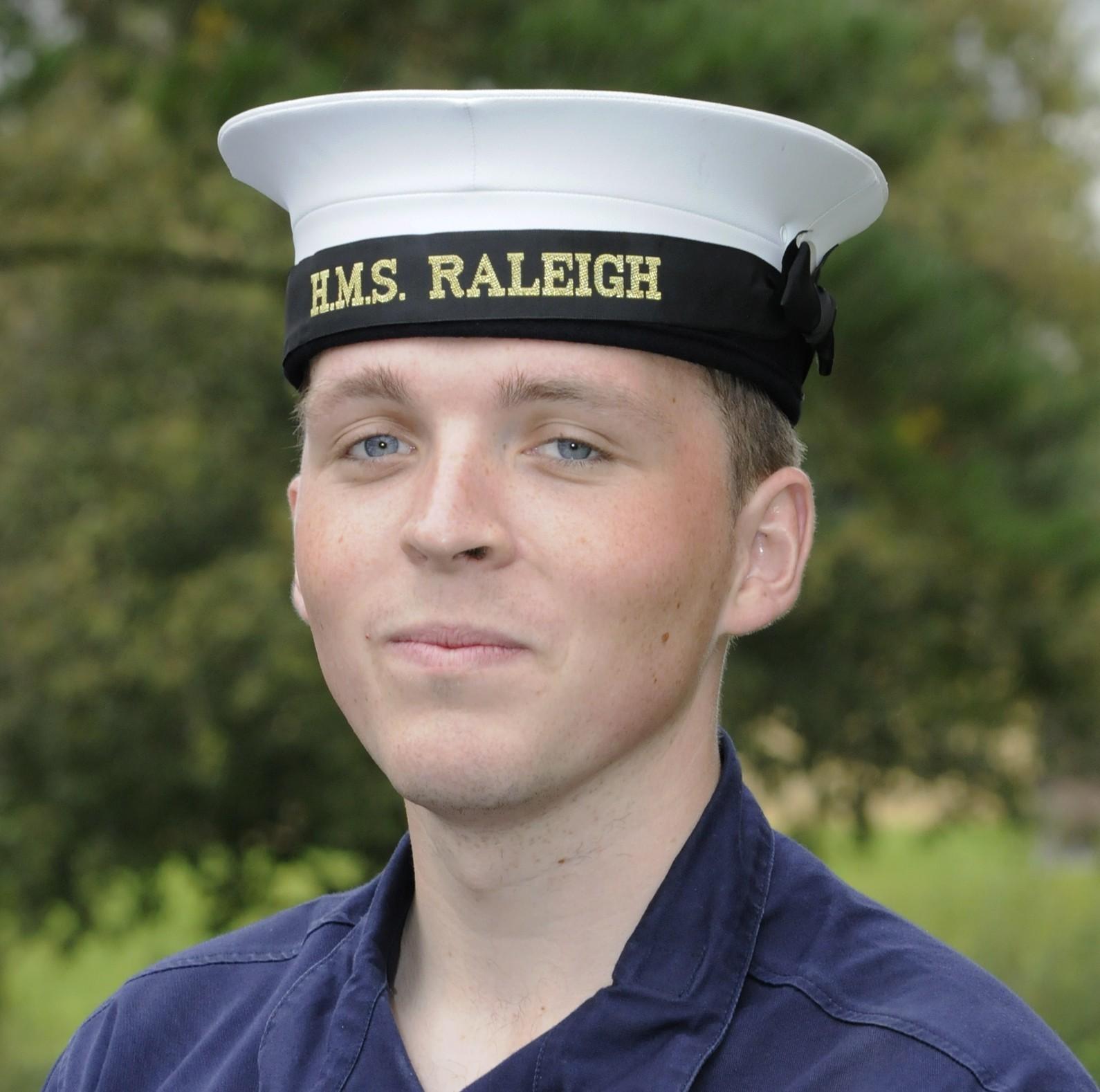 Aspiring submariner Connor Cleall