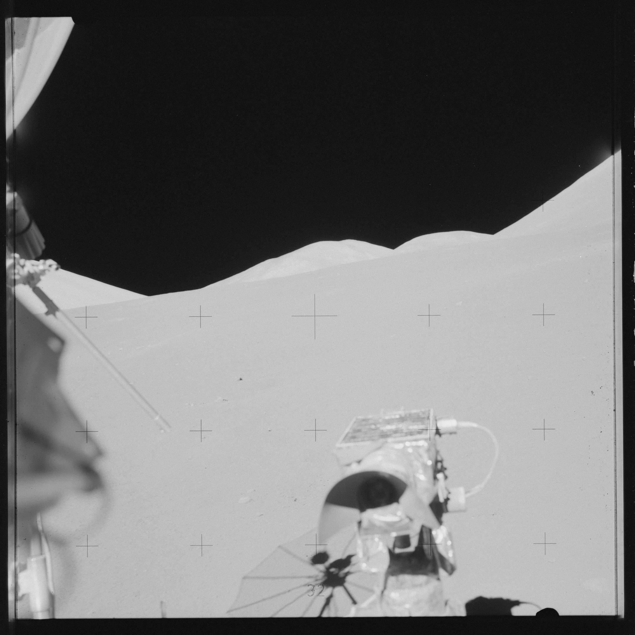Image from landing on the moon.