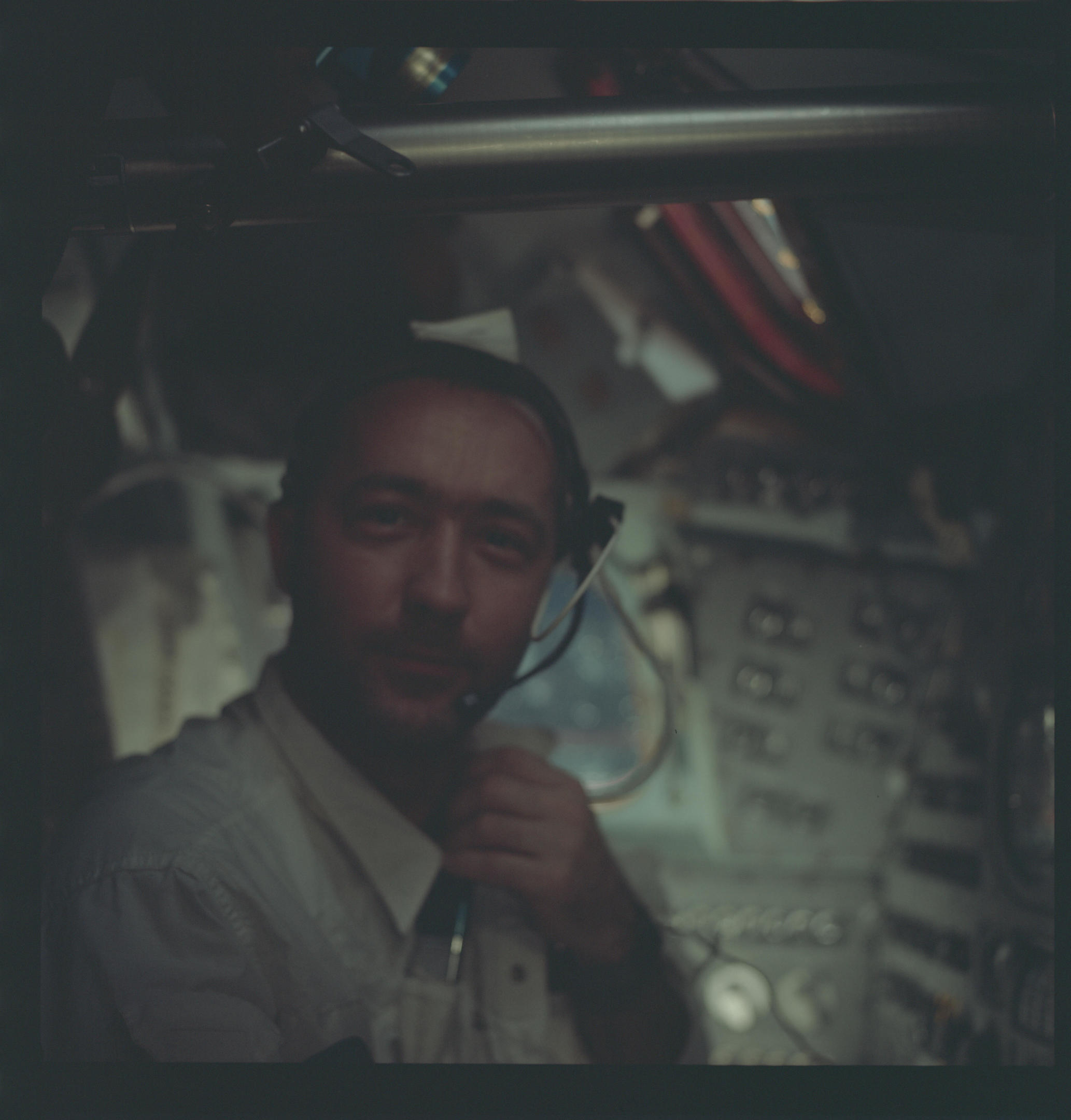The astronauts took very few pictures of each other