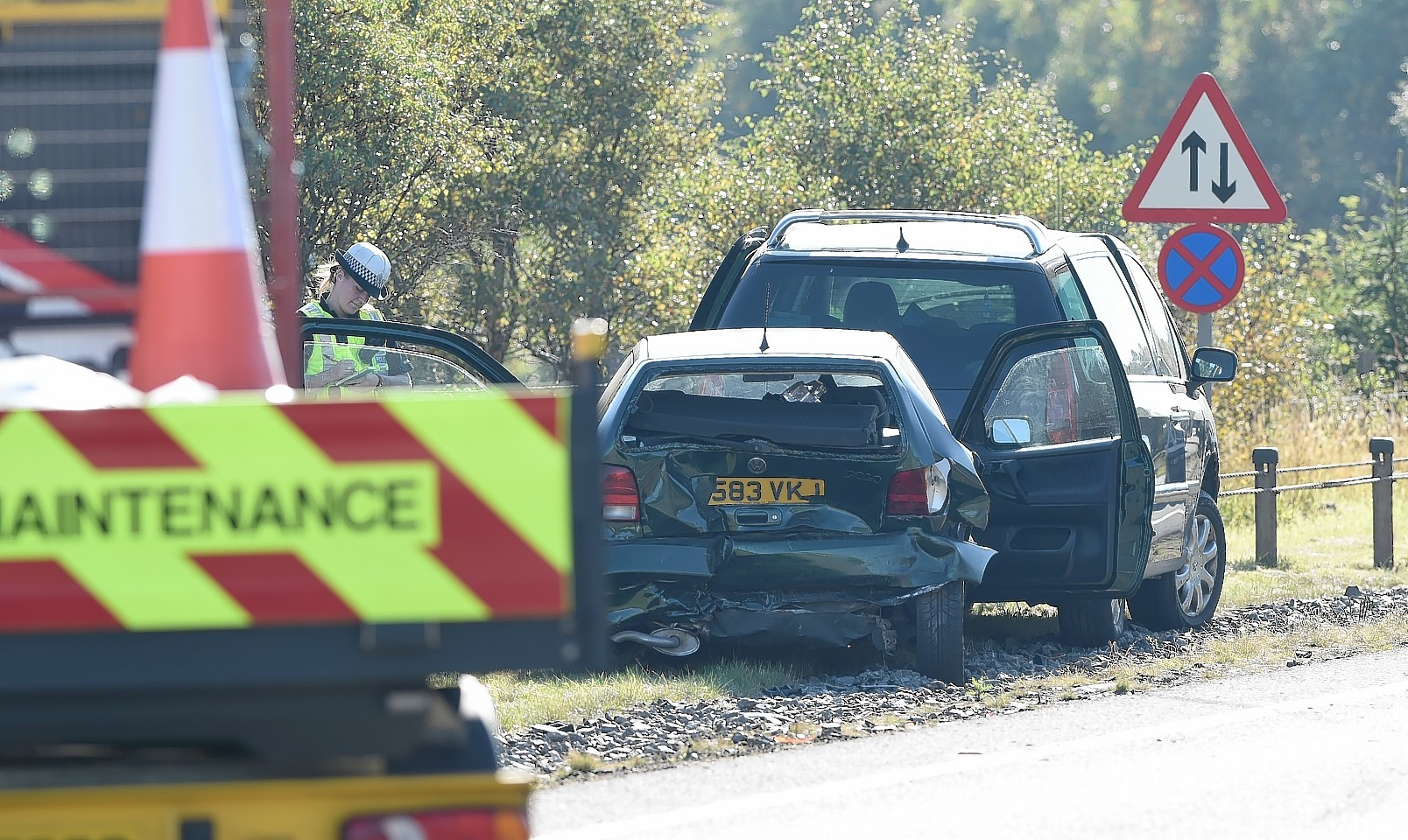 Four vehicles involved in second crash on A9 today | Press and Journal