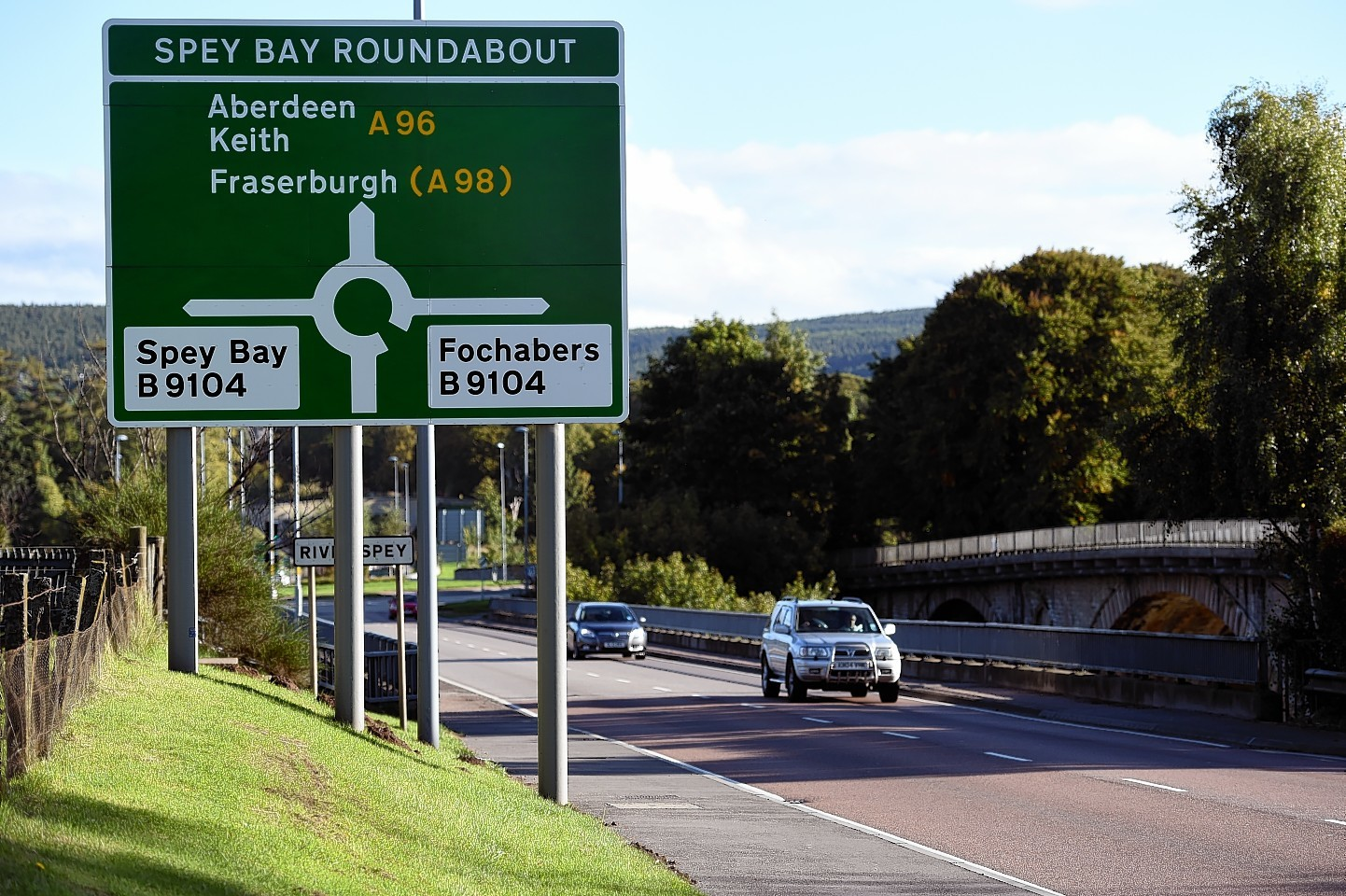 A96 is to be dualled up to Fochabers