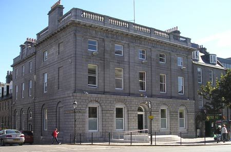 The three are expected to appear in Aberdeen Sheriff Court today
