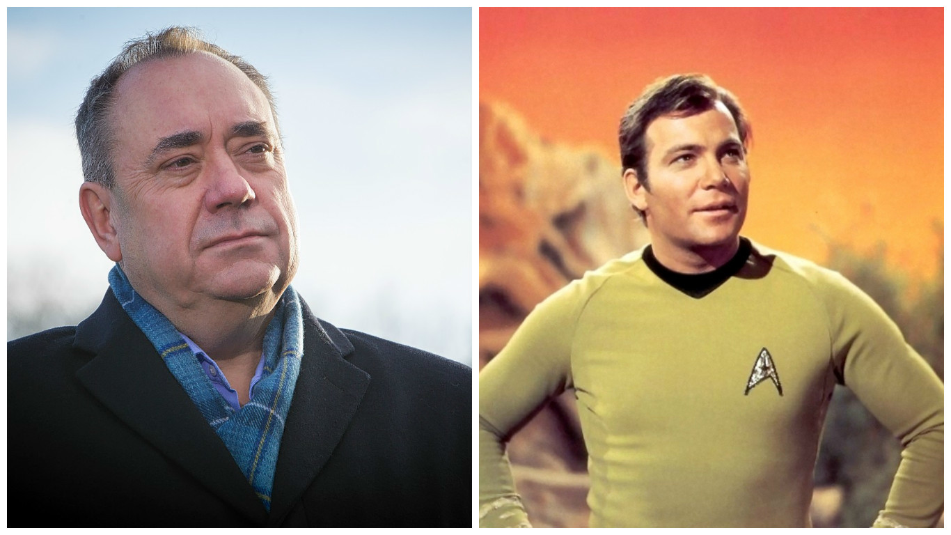 Alex Salmond borrowed Captain Kirk's name for his travels