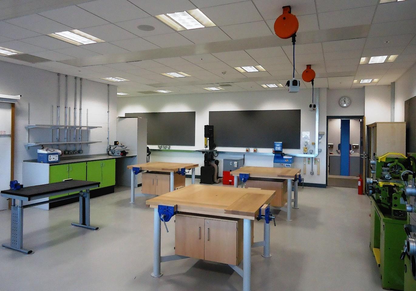 Inside Alford Community Campus