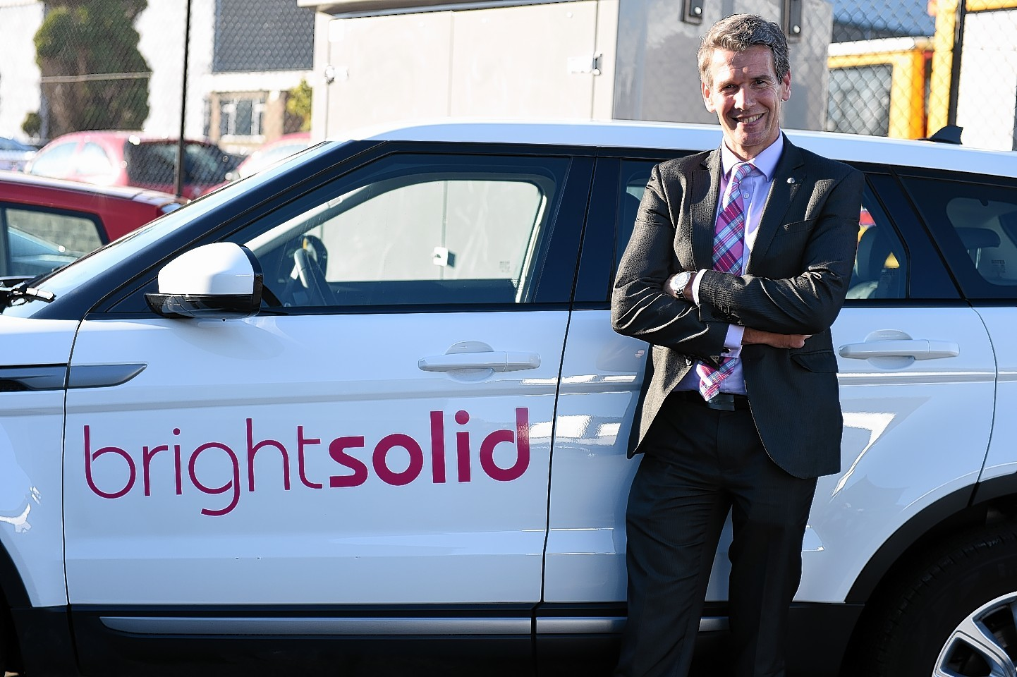 Brightsolid chief executive Richard Higgs