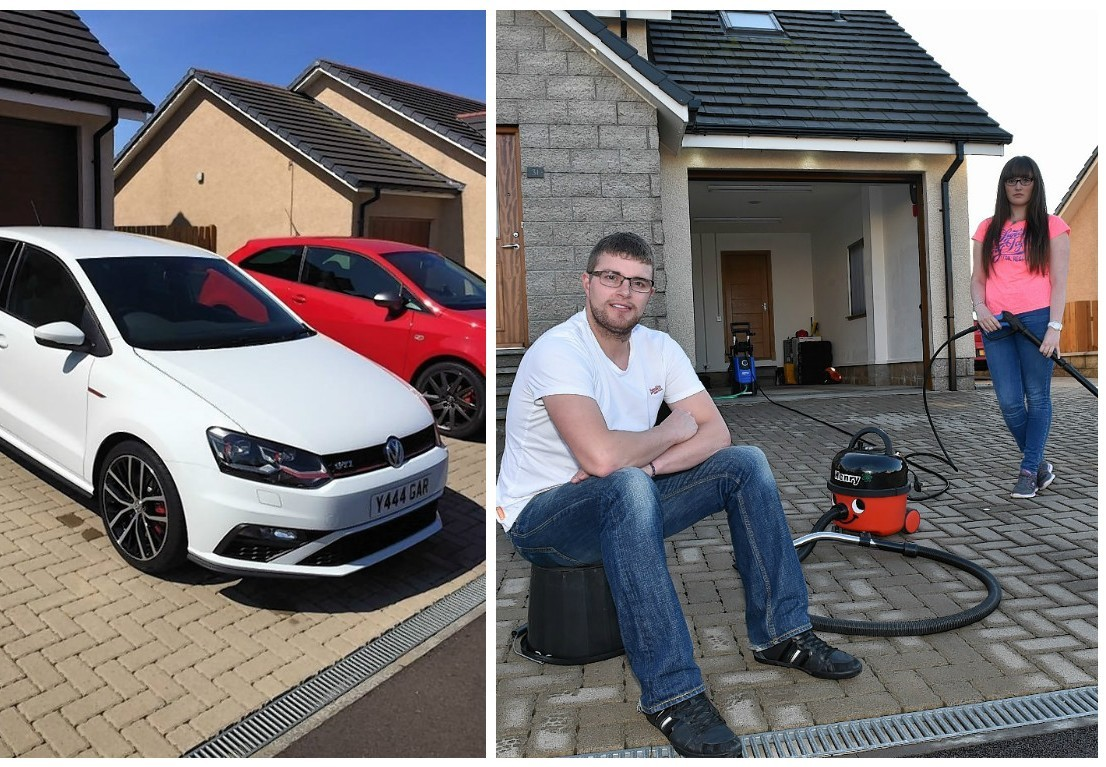 Gary Crawford had his car stolen from outside his home