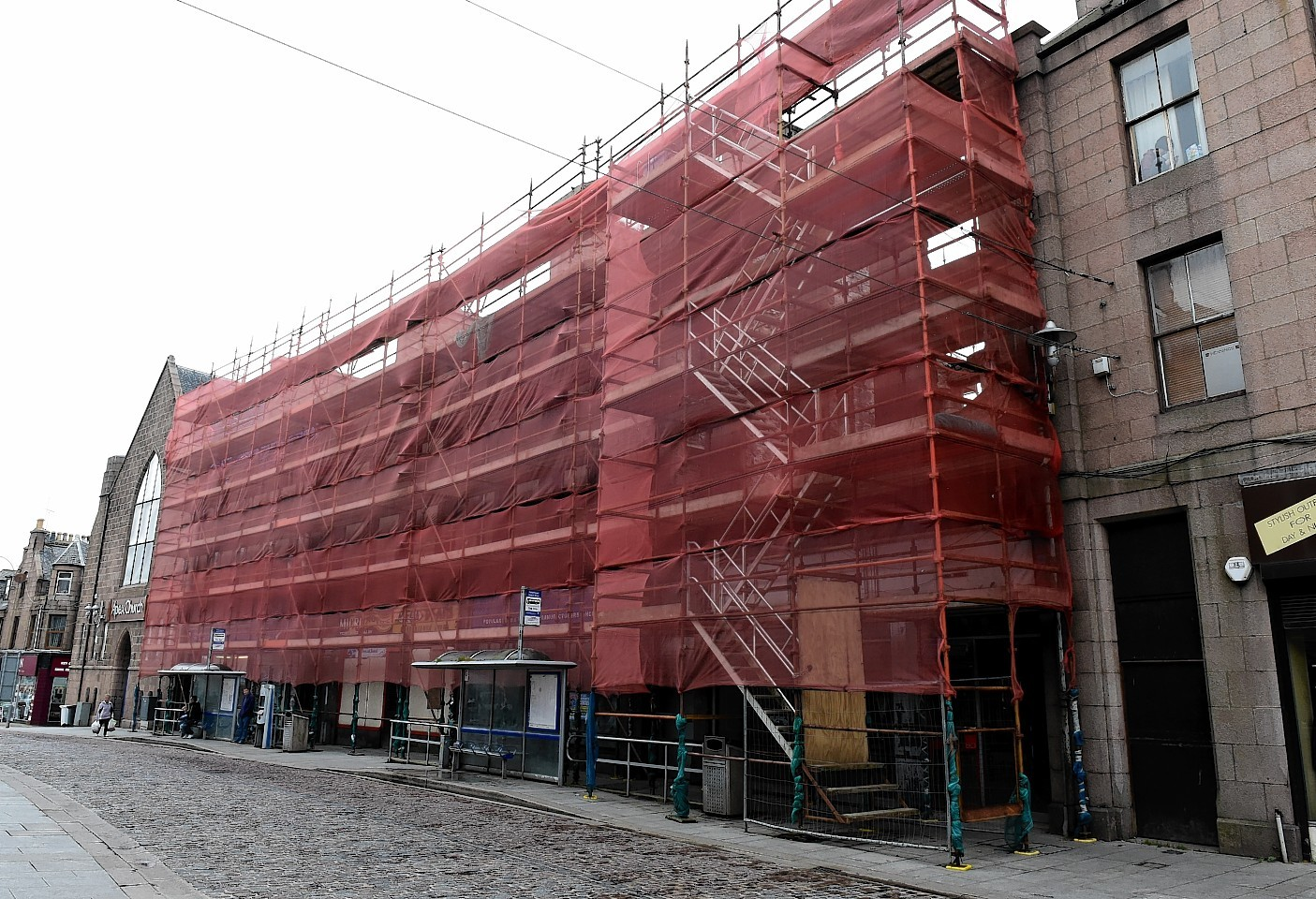Travelodge is replacing the formerly derelict site in Peterhead's Chapel Street.