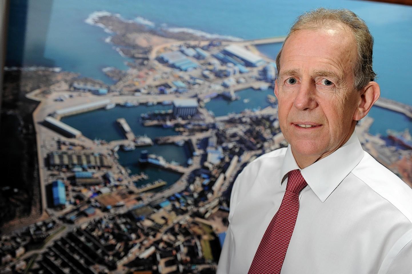 Peterhead Port Authority chief executive John Wallace