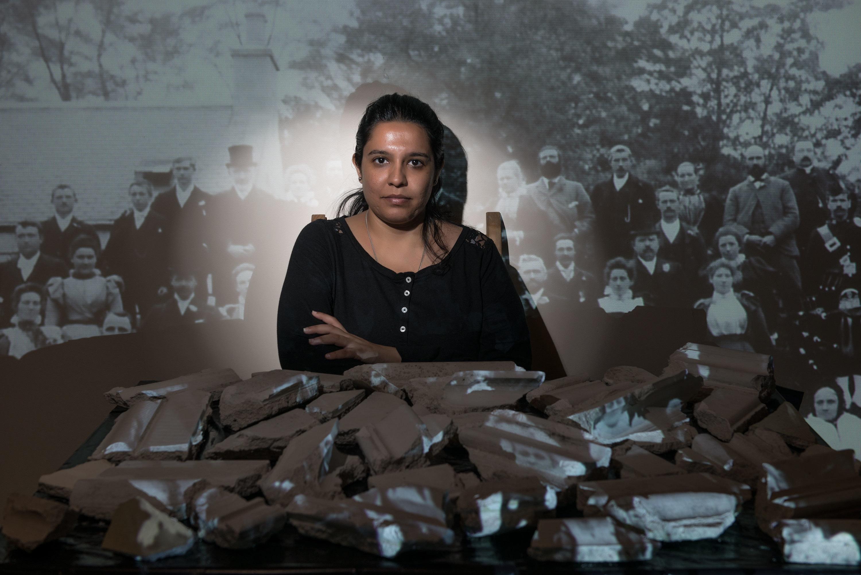 Indian artist Krupa Makhija