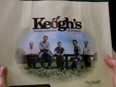 Keogh's packaging