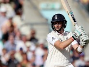 Joe Root was one of four England batsmen to pass 50 in Sharjah