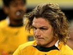 Flanker Michael Hooper will miss Australia's World Cup clash against Wales on Saturday due to suspension