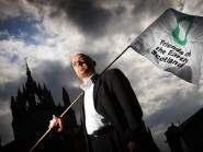 Patrick Harvie is running in the first-past-the-post Glasgow Kelvin constituency at next year's Scottish Parliament elections