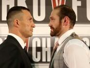 Tyson Fury, right, hopes to fight Wladimir Klitschko, left, on November 28