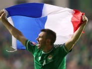 Gareth McAuley, pictured, has heaped praise on Northern Ireland manager Michael O'Neill