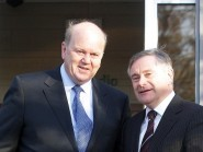 Michael Noonan (left) and Brendan Howlin are set to unveil the Budget