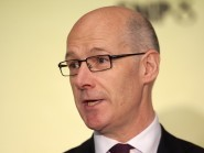 John Swinney says the SNP won't be participating in any pro-EU campaign with the Conservatives