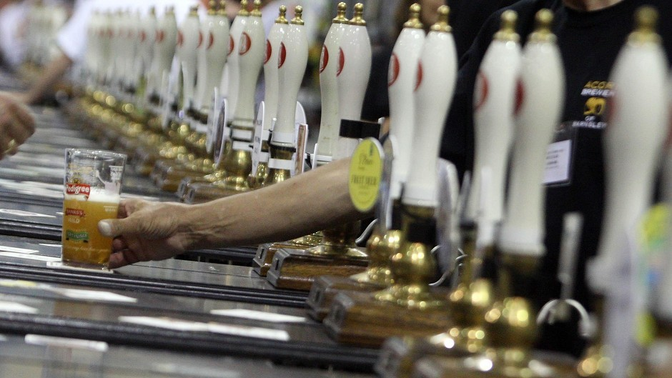Organisers are expecting to pour more than 14,000 pints.