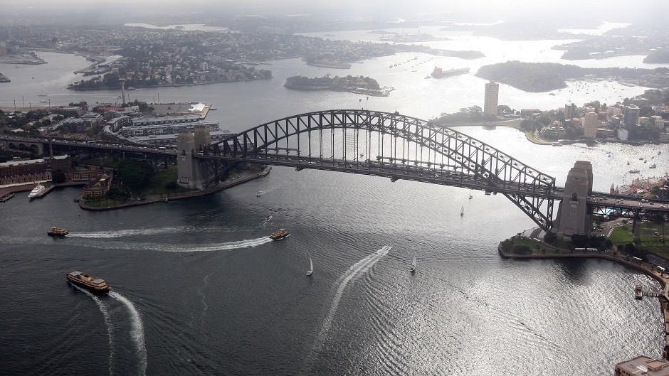 Dorman Long built Sydney Harbour Bridge in the early 1920s