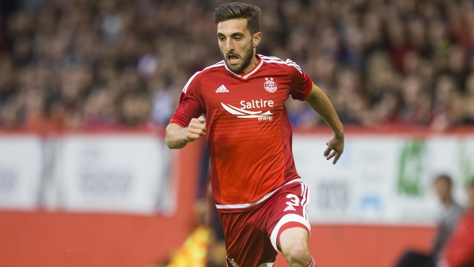 Graeme Shinnie: Not included in the Scotland squad to face Italy and France.