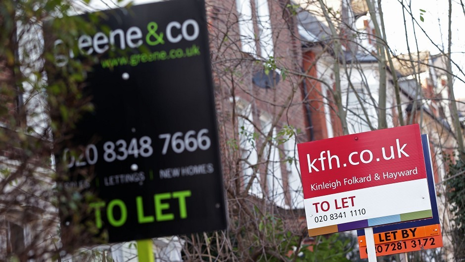 Aberdeen and Aberdeenshire have the highest rents in the country