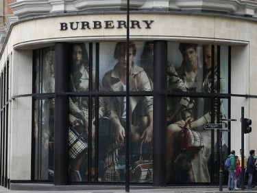Burberry has seen sales growth suffer as China faced economic problems