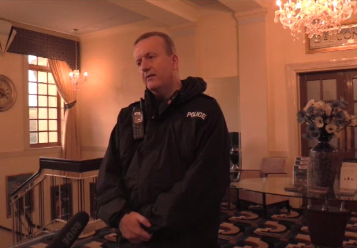 Police Scotland Chief Superintendent Adrian Watson