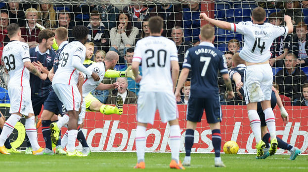 Ross County v Caley Thistle