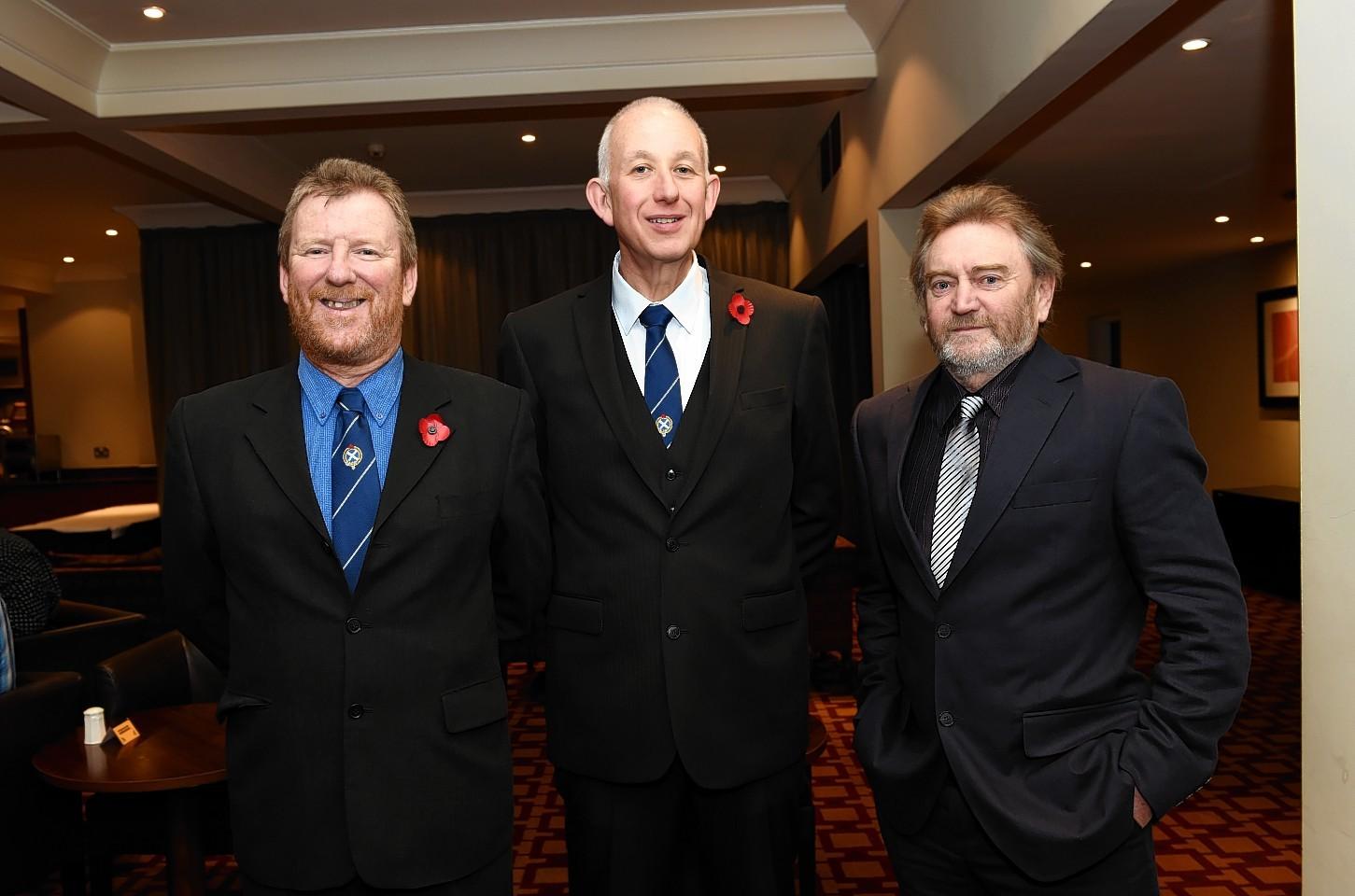 Iain MacIntosh, Grant Munro and David Orr