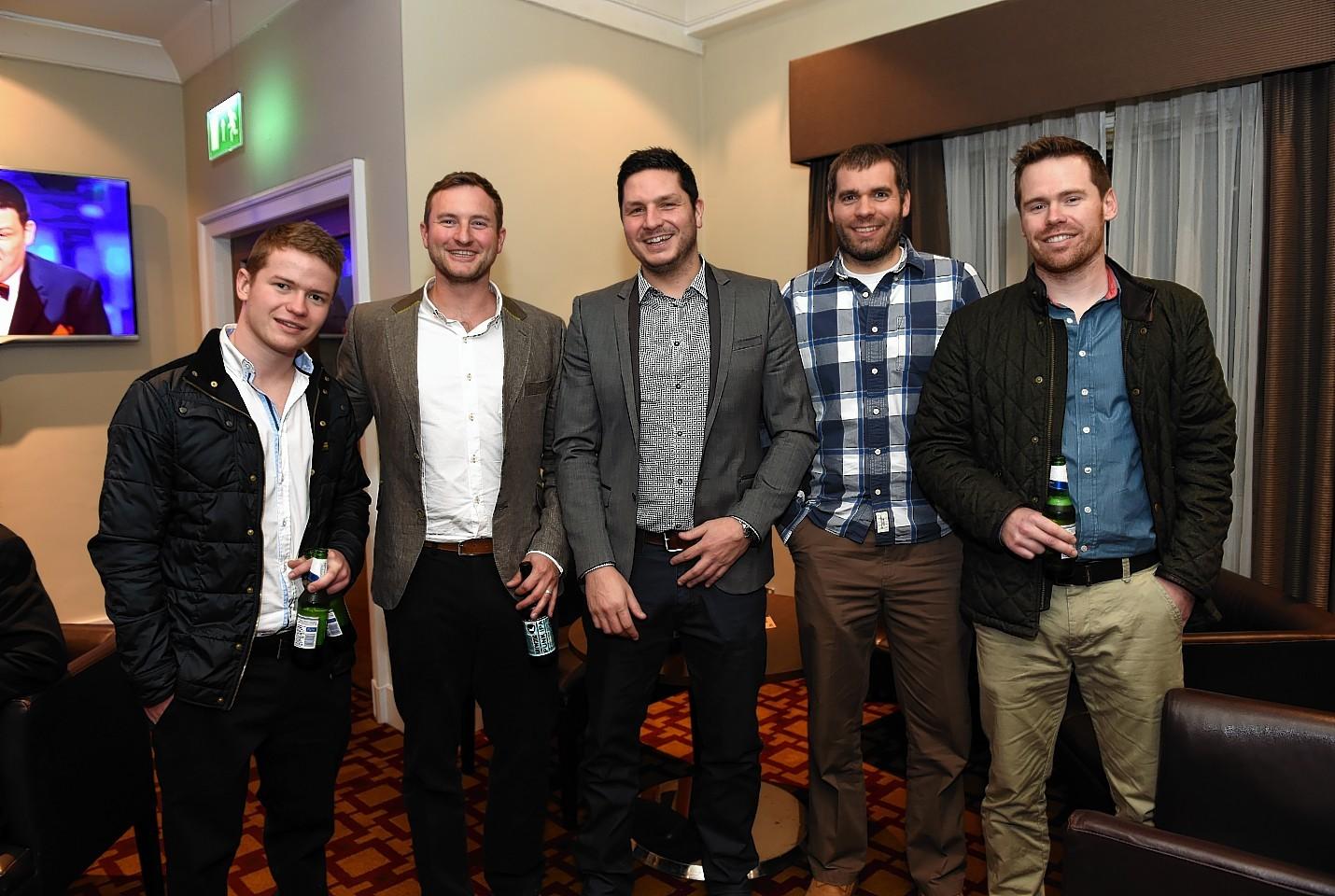 Jamie Corbett, Steve Bowman, Jamie Walker, Ross Maddox and Barry Corbett