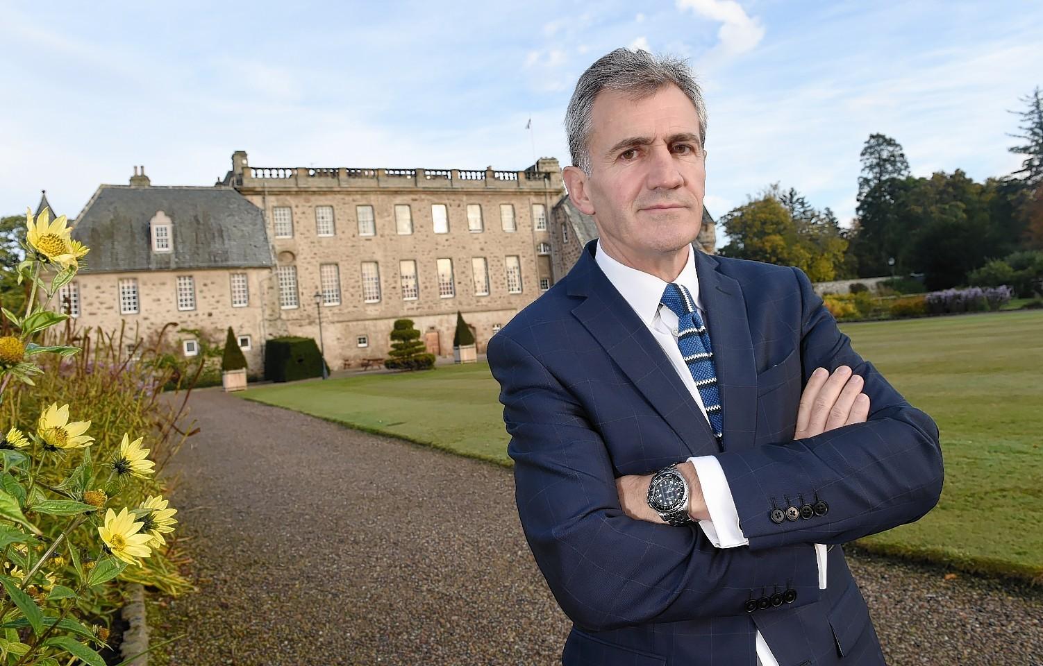 Simon Reid, Headmaster of Gordonstoun