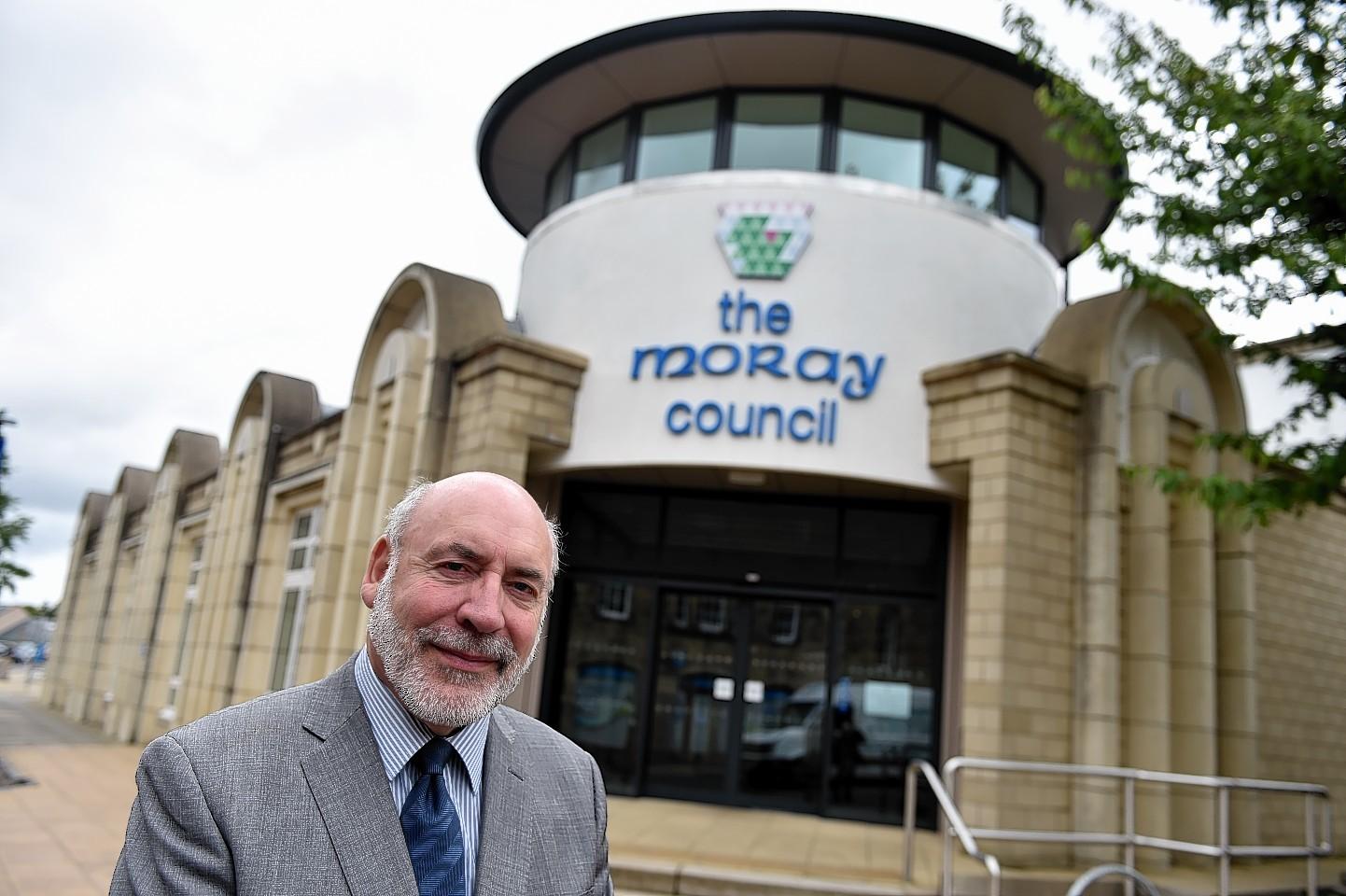 Moray Council leader Stewart Cree