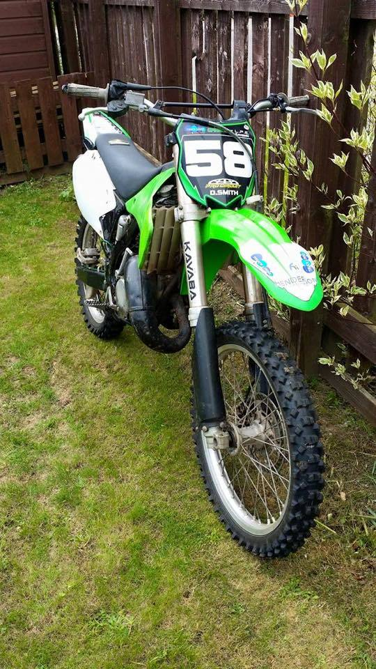 Another of the stolen bikes