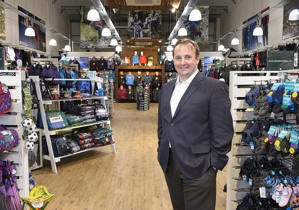 Mark Neale, chief executive of Mountain Warehouse.