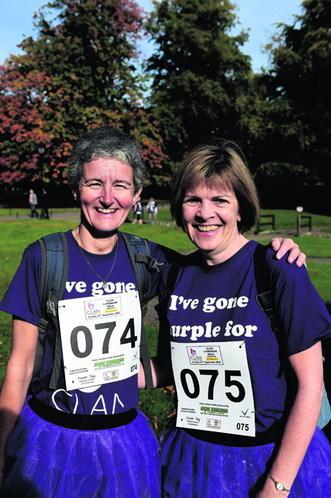 Heather Allan and Anne Paterson