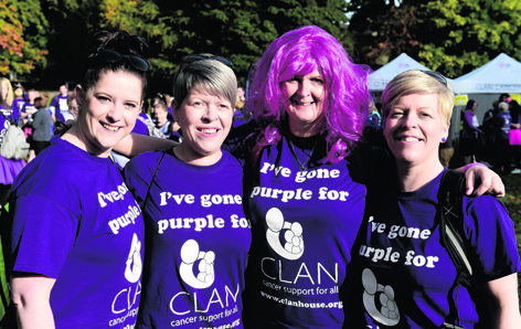 Leanne Bruce, Donna Kelly, Karen Davidson and Jane Duncan