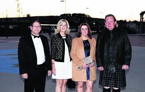 Brian Scott, Heather Thomson, Jane Sellar and Ian Thom