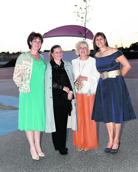 Alison Rees, Margaret Fernie, Carolyn Cameron and Sheena Gray