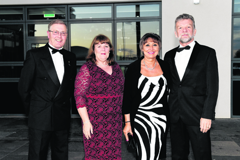 Dave and Lynne Torry with Cathy and Kevin McWilliam