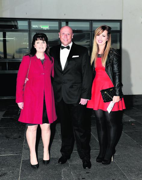 Amanda Murphy, Michael Brammen and Leanne Murphy