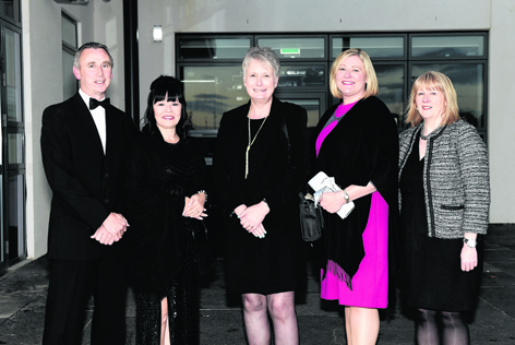 Andrew and Lynn Cook, Aileen Scorgie, Hilary Yule and Lorna Peace