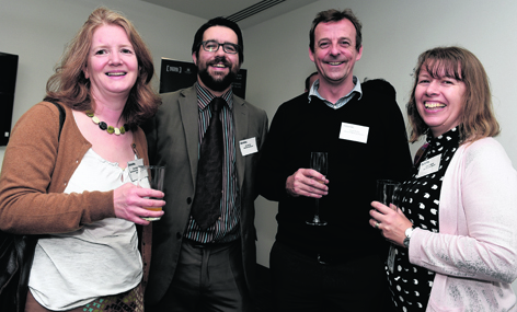 Fiona Robertson, David Officer, Simon Shankley and Jacky Hardacre