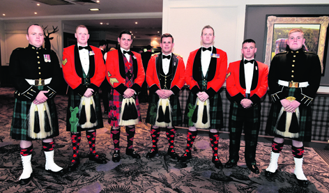 Members of 2 Scots The Royal Highland Fusiliers