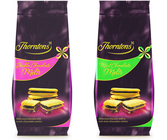 Thorntons' new range of   biscuits is now available