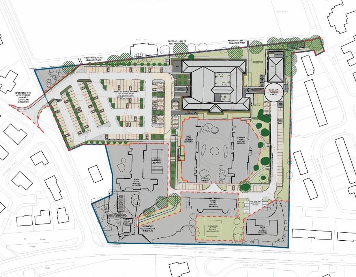 Inverurie health centre plans