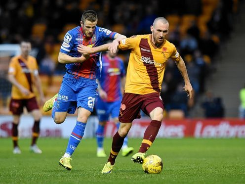 Joe Chalmers left Motherwell to join Caley Thistle in the summer.